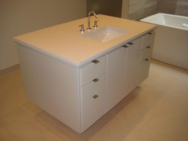 Bathroom Vanities Caesarstone Eggshell Quartz