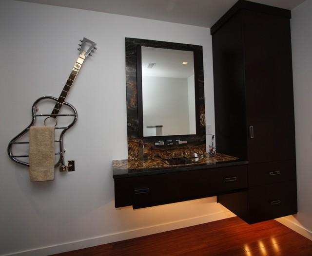 Bathroom vanity contemporary-powder-room