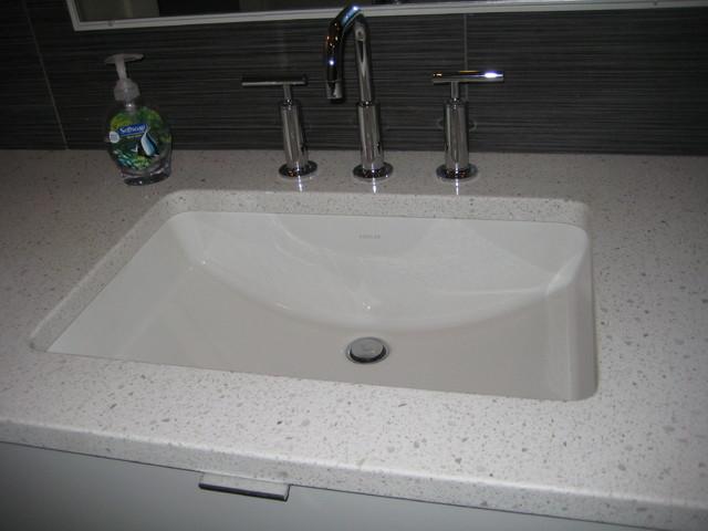 Bathroom Vanity Caesarstone Nougat Quartz