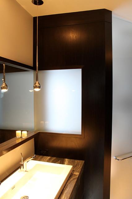bathroom vanity detail contemporary bedroom toronto