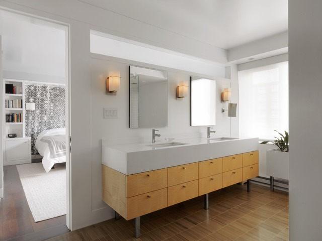 Bathroom Vanity Contemporary Bathroom