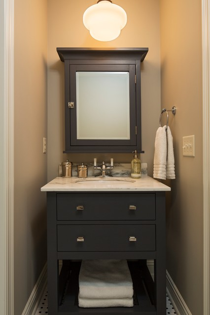 Bathroom Vanity Farmhouse bathroom vanity - farmhouse - bathroom - minneapolis -hendel homes