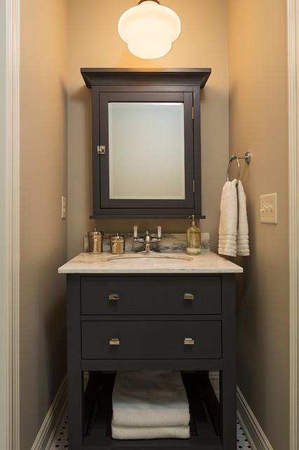 bathroom vanity  farmhouse  bathroom  minneapolis  by hendel homes,