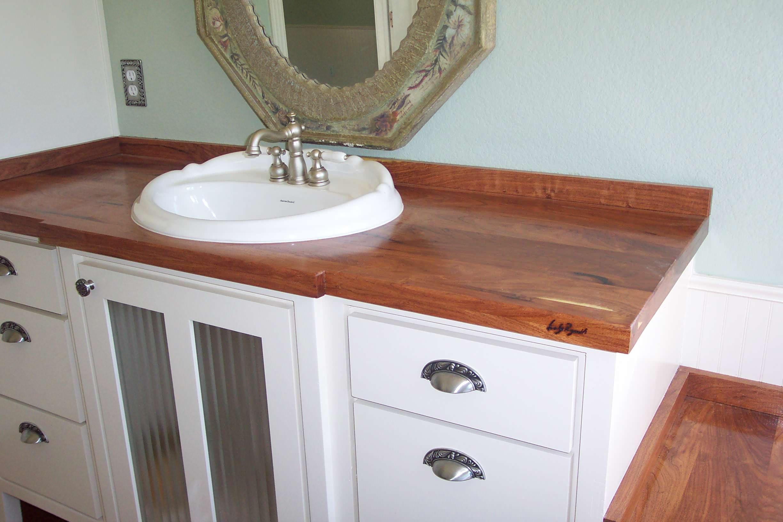 Bathroom, Vanity Mesquite counter top