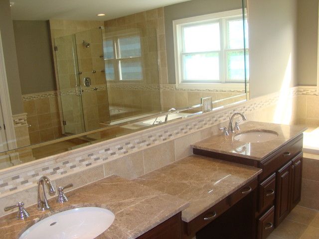bathroom vanity tops and backsplashes traditional bathroom