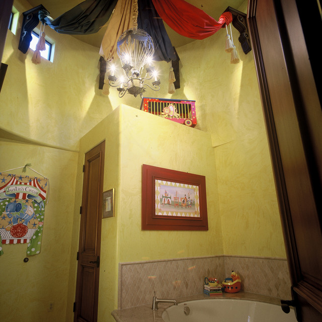 Circus Bathroom mediterranean-bathroom