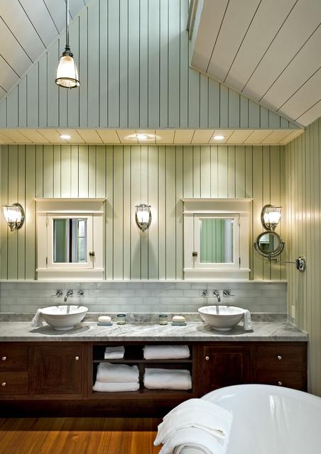 Bathroom Beach Style Bathroom Portland Maine By Whitten Architects