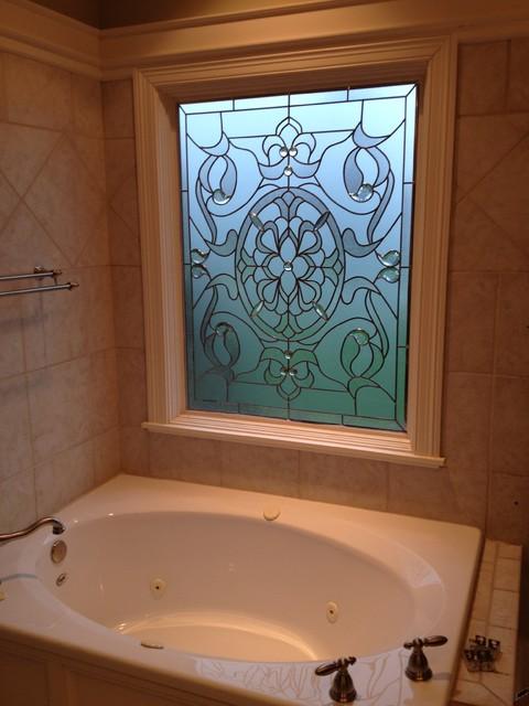 Bathroom Window Solutions bathroom window ornate - victorian - bathroom - indianapolis -