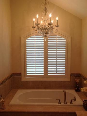 Bathroom Window Treatment Ideas Traditional Bathroom