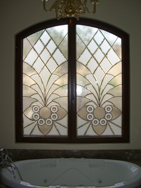 Bathroom Windows Arabesque Bevels Leaded Beveled Glass Designs Privacy Glass Bathroom