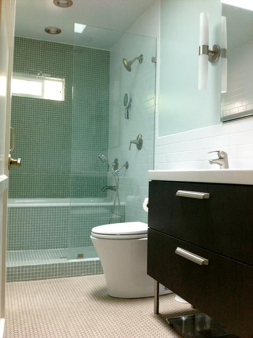 size of shower tub sink. Black Bedroom Furniture Sets. Home Design Ideas