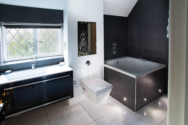 Bathrooms And Bedrooms In A North London Home