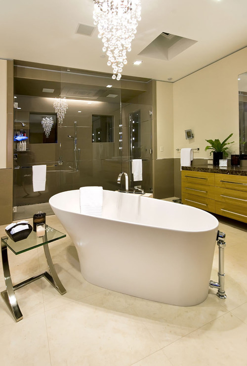 Bathrooms and Sinks contemporary bathroom