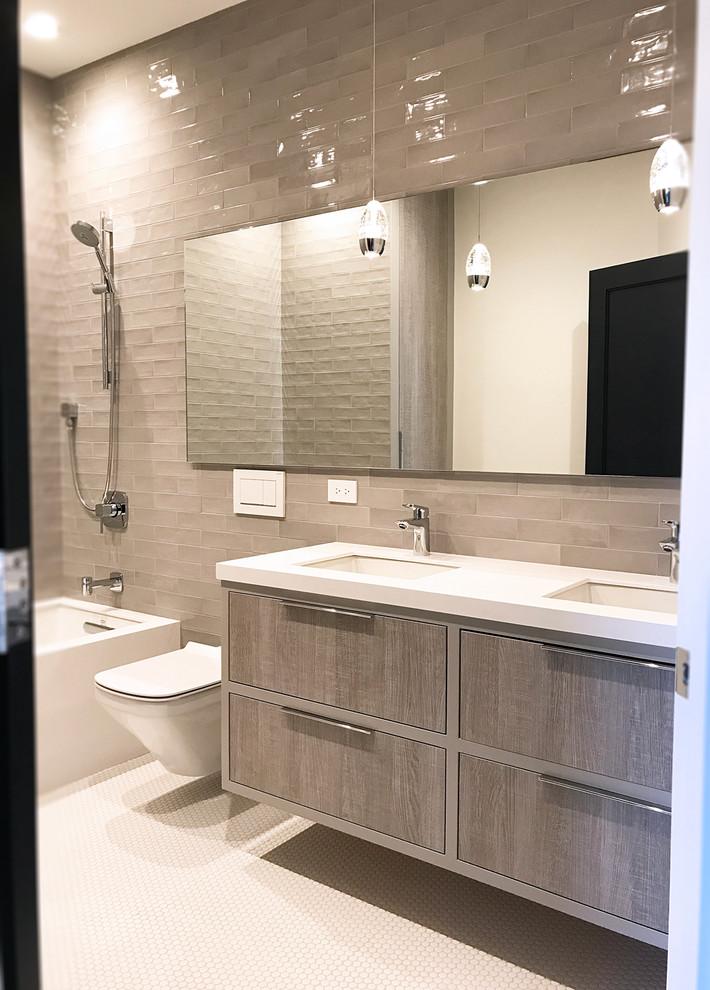 Bathrooms and Vanities - Contemporary - Bathroom - Chicago ...