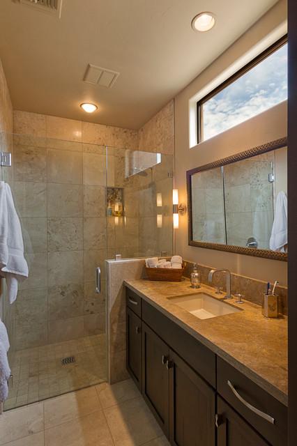Bathrooms Transitional Bathroom Phoenix By Arizona Designs Kitchens And Baths
