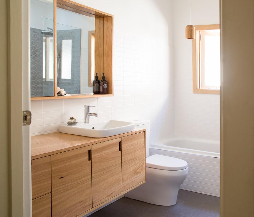 Bathrooms - Midcentury - Bathroom - Geelong - by AULD DESIGN