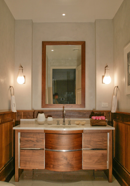 contemporary bathroom by Betty Wasserman