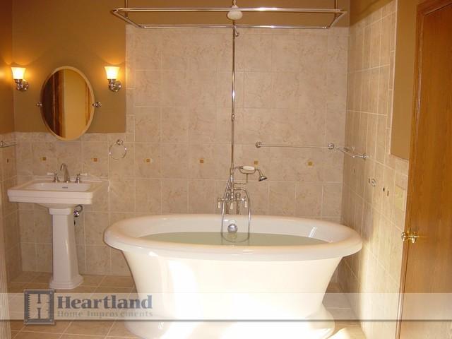 Bathrooms by Heartland Home Improvements traditional-bathroom