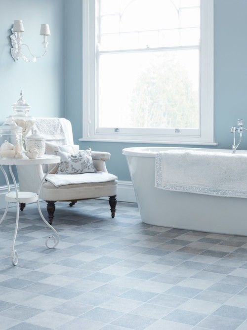 7 Amazing Bathrooms You Won T Believe Have Vinyl Flooring