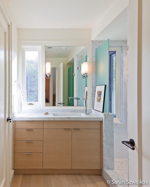 Bathrooms Contemporary Bathroom Portland Maine By Chatfield Design
