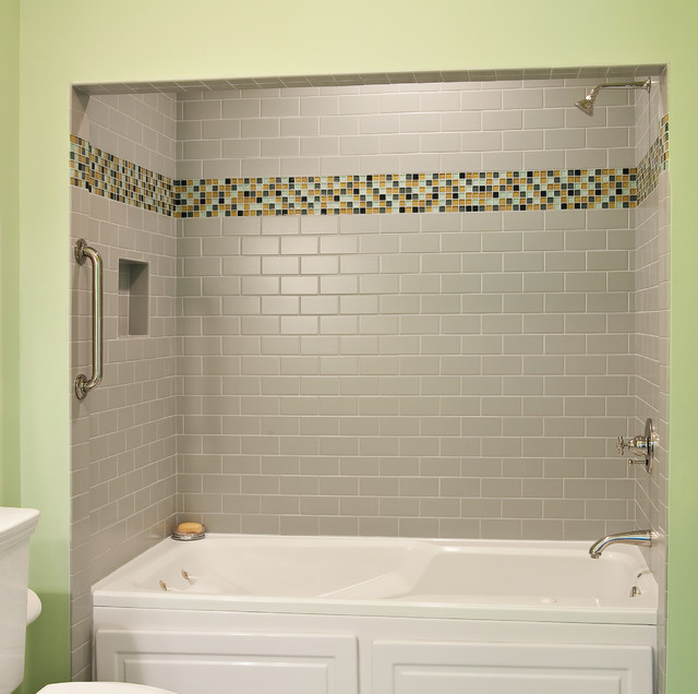 traditional bathroom by Cinder Creek Construction