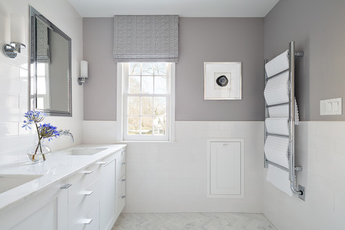Trim Above The Subway Wall Tile Is It Schleuter Or Pencil