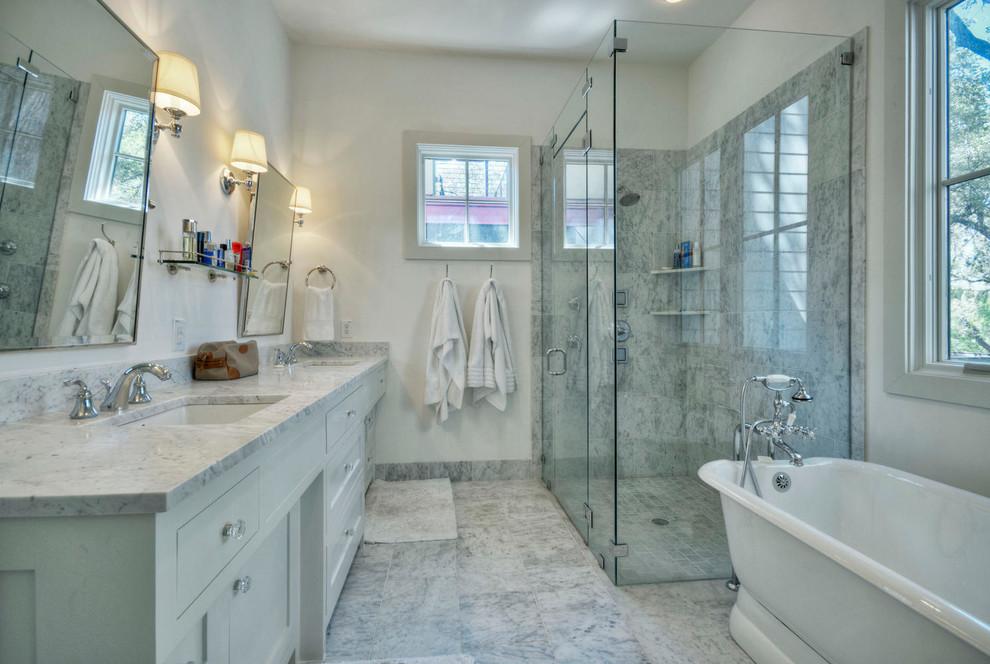 Bathroom - cottage bathroom idea in Austin