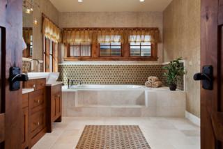 Bathrooms classique salle de bain denver par dann for Chambre bebe denver