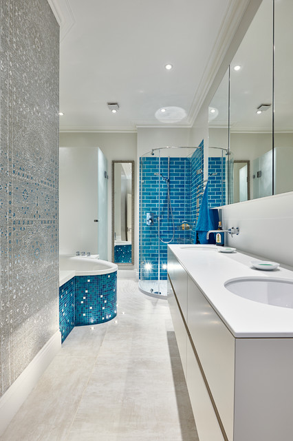 Bathrooms in belsize park contemporary bathroom Bathroom design company london