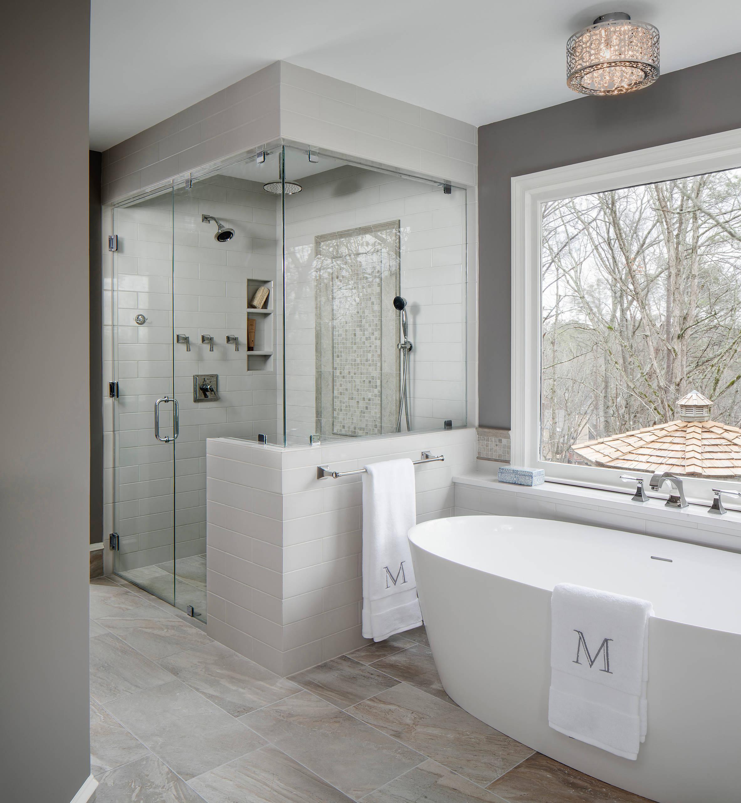 75 Beautiful Ceramic Tile Bathroom Pictures Ideas February 2021 Houzz
