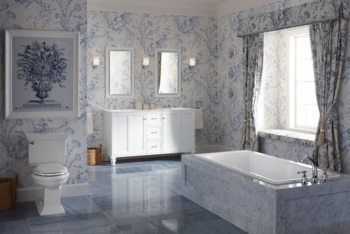 French Country Bathroom Design (PHOTOS)