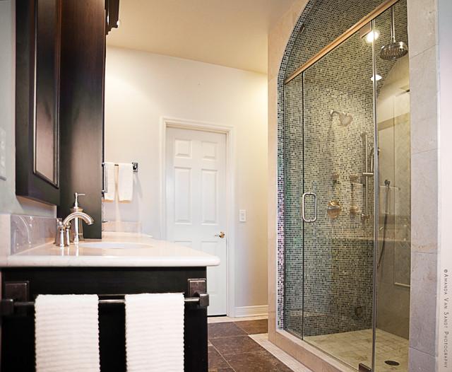 Bathrooms Contemporary Bathroom Nashville By Kristina Eckert Evolvedesignbuild