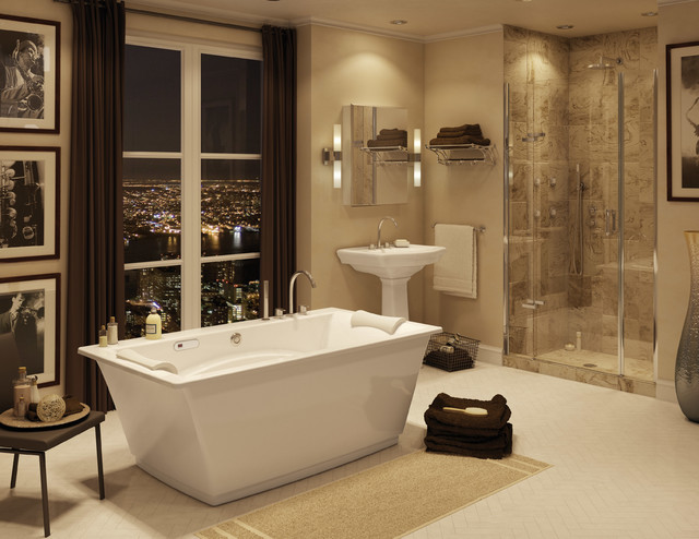 Bathrooms - Transitional - Bathroom - Montreal - by MAAX Bath Inc.
