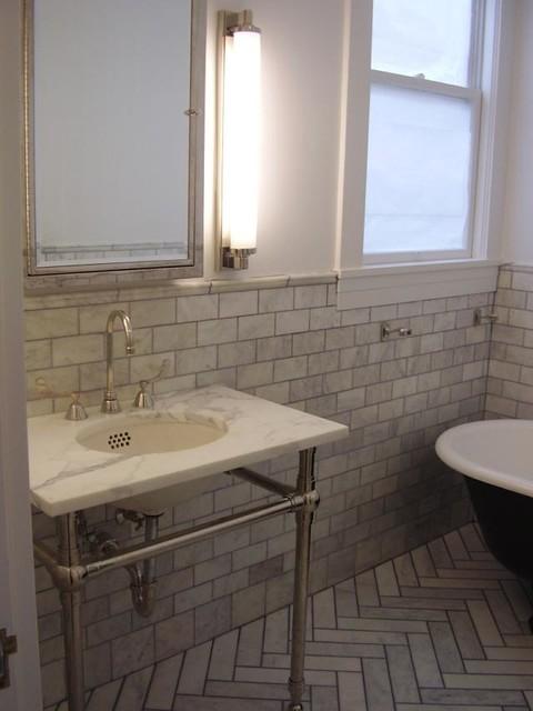 Bathrooms Marble Tiles Traditional Bathroom San Francisco By O 39 Reilly Tile Design Inc