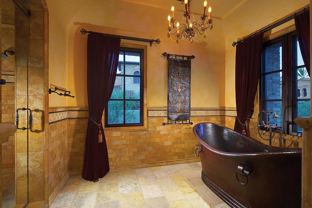 Bathrooms Mediterranean Style Mediterranean Bathroom