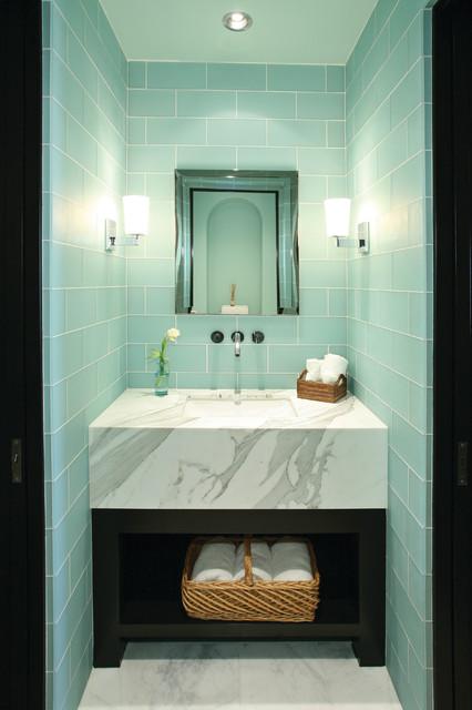 Bathrooms Mediterranean Style Mediterranean Bathroom New York By Ancient Surfaces