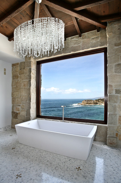 Bathrooms (Mediterranean Style) - Mediterranean - Bathroom - New York - by Ancient Surfaces