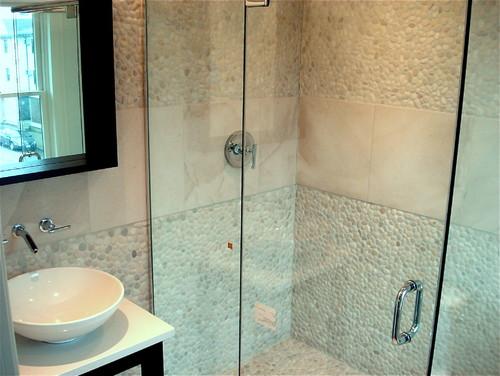 Welches Material passt in mein Bad - Beton, Fliesen oder Holz?