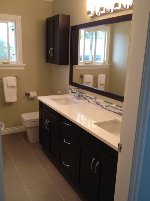 Bathrooms Transitional Bathroom other metro by