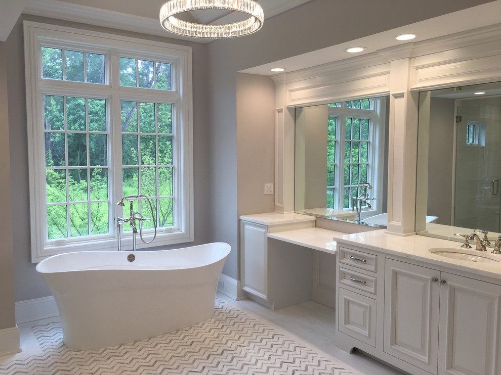 Bathrooms - Transitional - Bathroom - New York - by ...