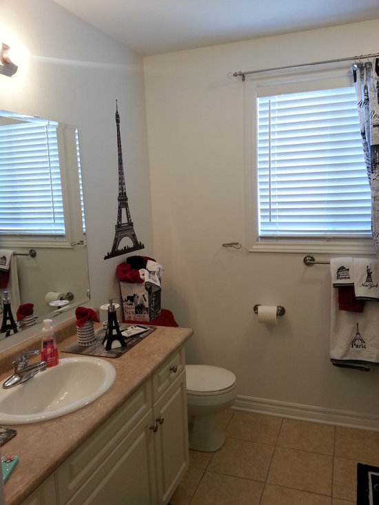 Paris Themed Bathroom Home Design Ideas Pictures Remodel And Decor