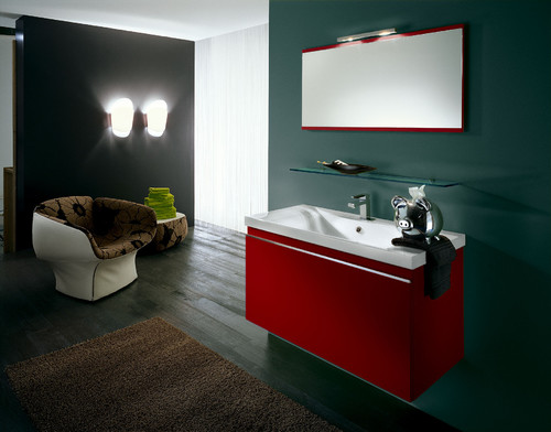 Where is the vanity from? I am looking for a red vanity.