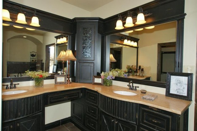 traditional bathroom by Silver Stone Homes LLC