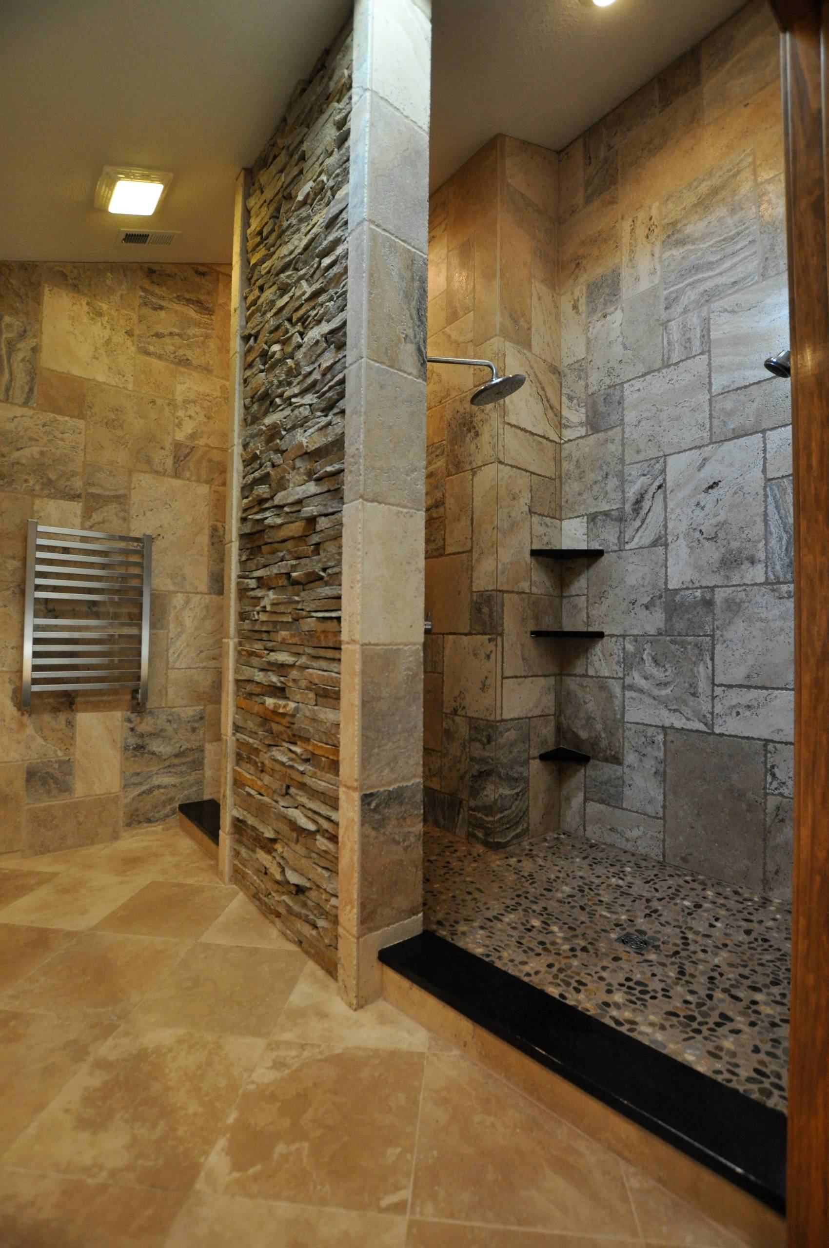 stone showers designs