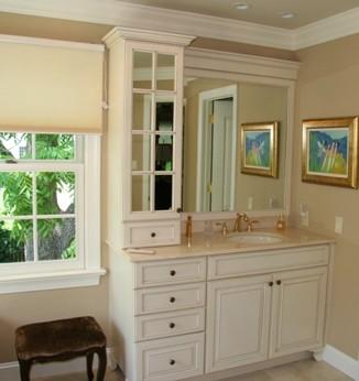 Vanity Towers Take Bathroom Storage To