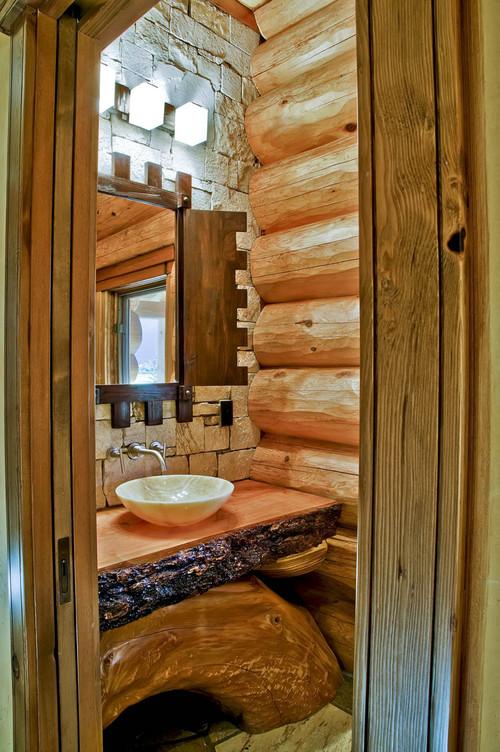 Bathrooms - Traditional eclectic bathroom