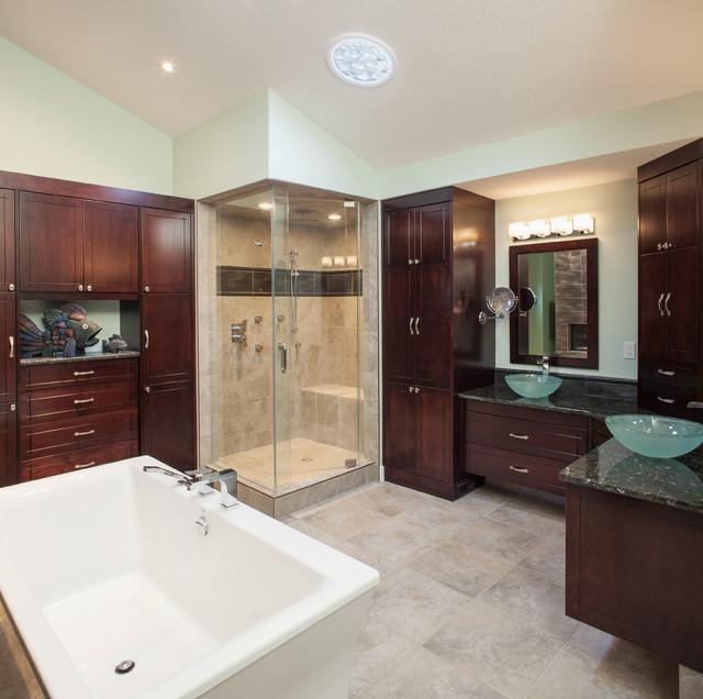 Elegant Bathroom Cabinets Calgary  Evolve Kitchens  Calgary Bathroom