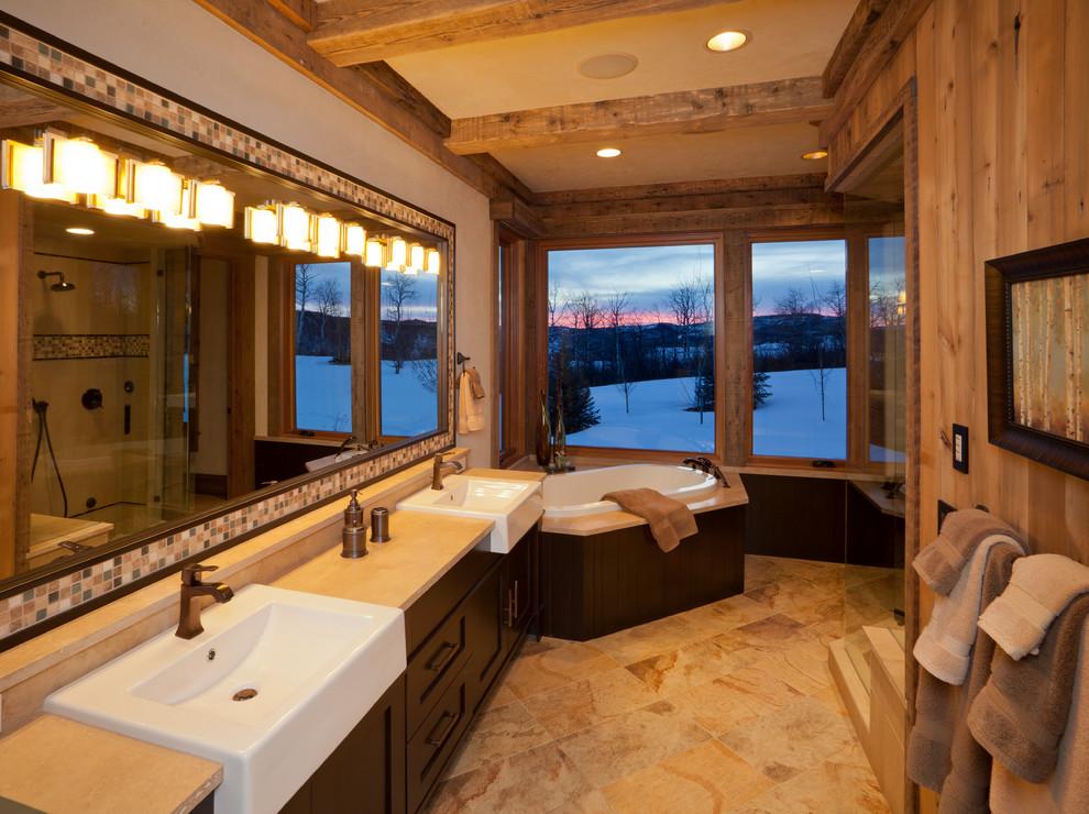Bathrooms - Rustic - Bathroom - Denver - by Vaussa