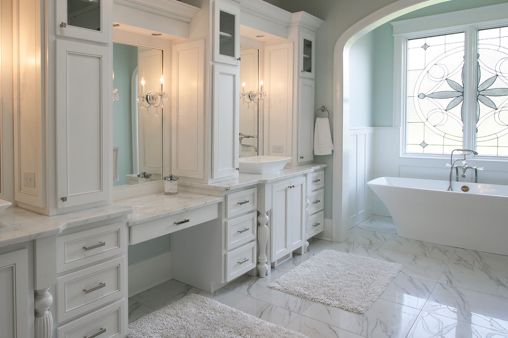 Bathrooms - Traditional - Bathroom - Charlotte - by Walker ...