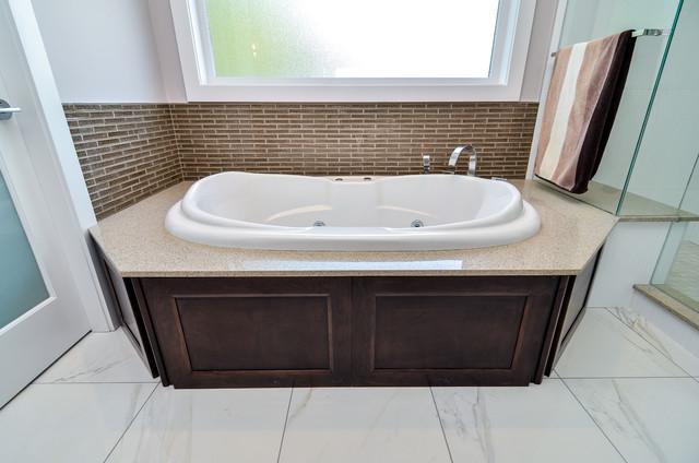 Bathtub contemporary bathroom vancouver by atlas for Bathroom cabinets surrey bc